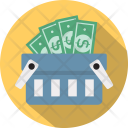 Money basket Icon