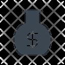 Money Beaker Icon
