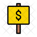Money Board Auction Board Icon