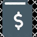 Money Book Finance Icon
