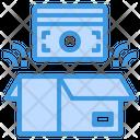 Money Box Financial Icon