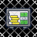 Box Money Safe Bank Icon