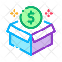Box Package Crowdfunding Icon