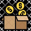 Money Box Coin Box Money Icon