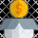 Money Box Money Bag Money Sack Icon