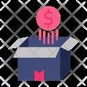 Money Box Coin Icon