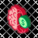 Money Brainstorming Crowdfunding Icon