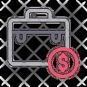 Portfolio Work Bag Icon