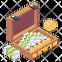 Cash Bag Money Briefcase Cash Briefcase Icon