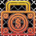 Money Briefcase Dollar Suitcase Dollar Briefcase Icon