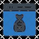 Dollar Pay Saving Icon
