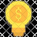 Money Bulb Icon