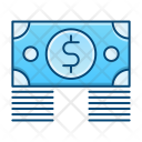 Money Bundle Banknote Icon