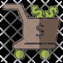 Money Cart Icon