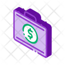Case Dollar Business Icon