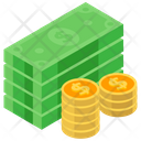 Money Cash Currency Dollars Icon