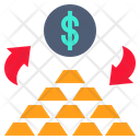 Money Change Gold Money Change Icon