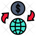 Money Change Internet Icon