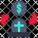 Money Changing Death Icon