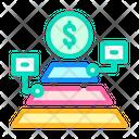 Maslow Pyramid Color Icon