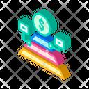 Maslow Pyramid Isometric Icon