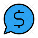 Message Dollar Dialog Icon