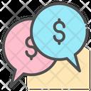 Money Chat Bubble Chat Bubble Icon