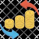Financing Dollar Process Icon