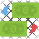 Money Convert Circulation Icon