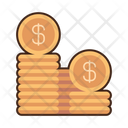 Money Coins Currency Coin Dollar Coin Icon