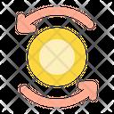 Exchange Cryptocurrency Crypto Icon