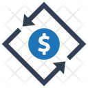 Money Conversion Budget Planning Currency Exchange Icon