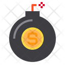 Currency Bomb Financial Icon