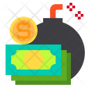 Bomb Business Currency Icon