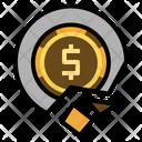 Money Crisis Bankruptcy Failure Icon