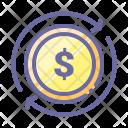 Coins Dollar Coin Icon