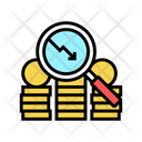 Money Coin Research Icon