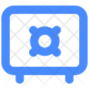 Deposit Money Safe Icon