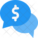 Discussion Money Currency Icon