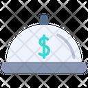 Money Money Dish Serving Dish Icon