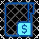 Dollar Money Folder Icon