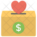 Donation Box Charity Collection Donation Bins Icon