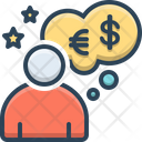 Dream Bubble Money Icon