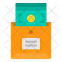 Money Envelope Financial Icon