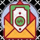 Money Envelope Monetize Cash Gift Icon