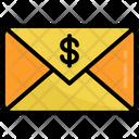 Money Envelope Cash Email Icon
