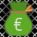 Money Euro Bag Money Bag Money Sack Icon