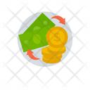 Dollar Exchange Money Exchange Financial Market Icon