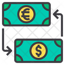 Money Exchange Exchange Money Money Conversion Icon