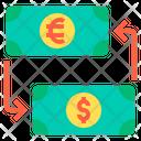Money Exchange Exchange Money Money Conversion Icon